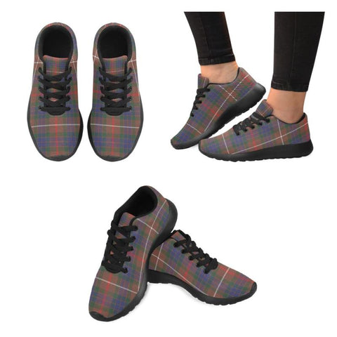 Fraser Hunting Modern Tartan Running Shoes Hj4 Us6 / Fraser Hunting Modern Black Womens Running
