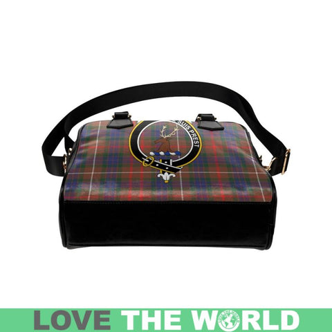 Fraser Hunting Modern Tartan Shoulder Handbag - Bn Pu Handbags