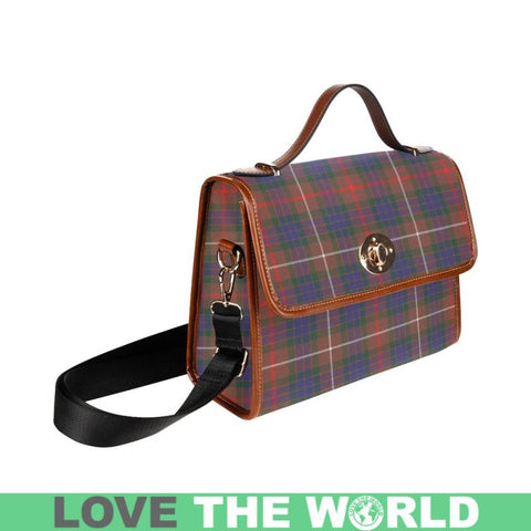 Fraser Hunting Modern Tartan Plaid Canvas Bag | Online Shopping Scottish Tartans Plaid Handbags