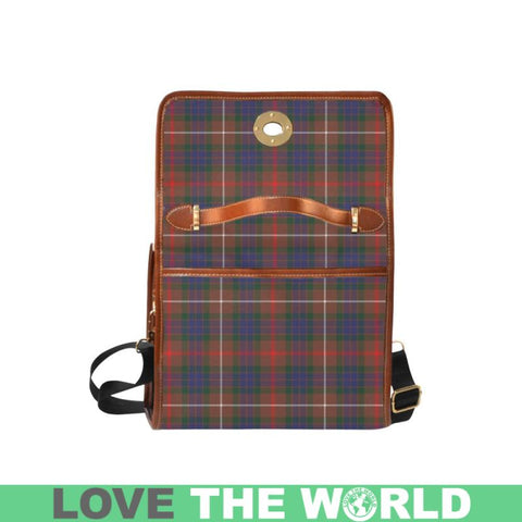 Fraser Hunting Modern Tartan Canvas Bag | Waterproof Bag | Scottish Bag