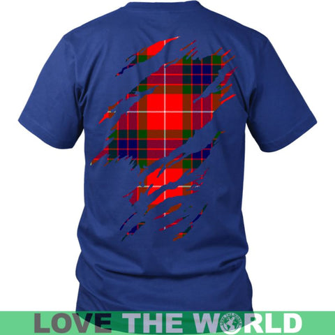 Image of Fraser Tartan Shirt And Tartan Hoodie In Me