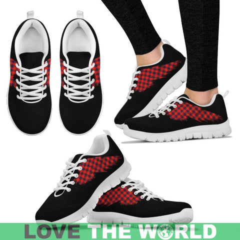 Tartan Sneaker - Flying Fraser Modern | Scotland Sneaker | Over 500 Wings of Tartans