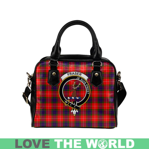 Image of Fraser Modern Tartan Shoulder Handbag - Bn Pu Handbags