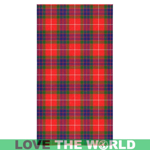 Image of Fraser Modern Tartan Towel S12 One Size / Square Towel 13X13 Towels