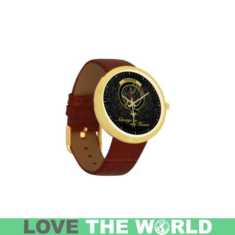 Fraser (Of Lovat) In My Heart Tartan Luxury Watch K5 |Accessories| Love The World