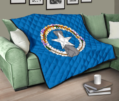 Image of Northern Mariana Islands Flag Premium Quilt A6