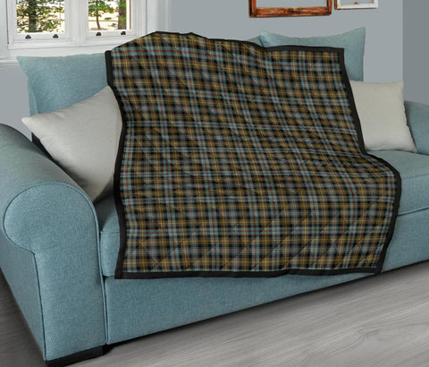 Image of Farquharson Weathered Tartan Premium Quilt TH8