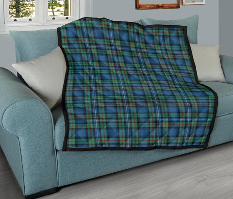 Image of Robertson Hunting Ancient Tartan Premium Quilt TH8