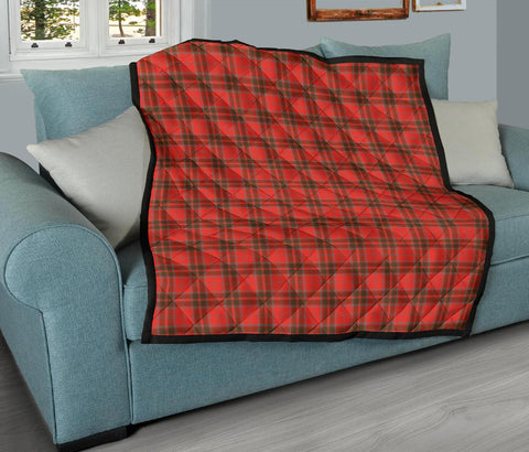 Image of Grant Weathered Tartan Premium Quilt TH8