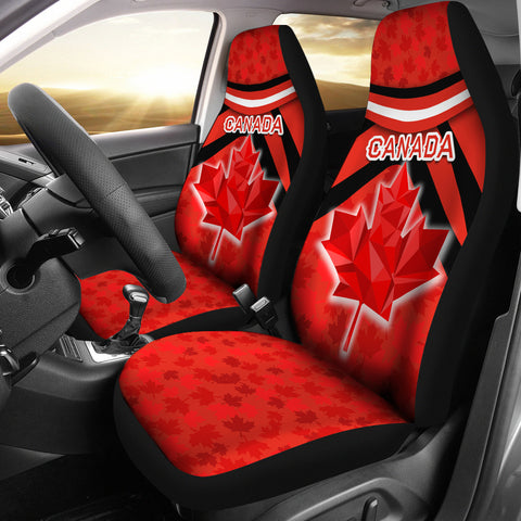 Canada Car Seat Covers - Vibes Version K8