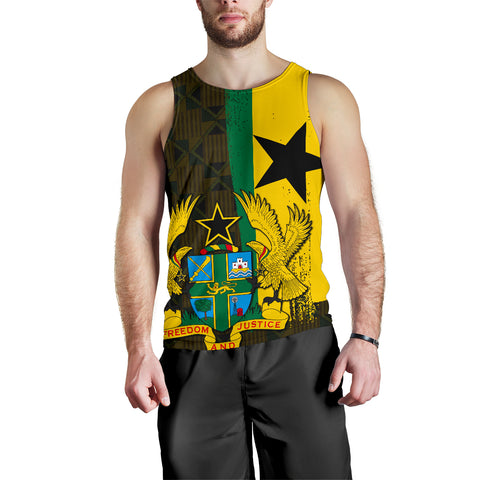 Image of Ghana Men's Tank Top