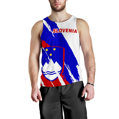 Slovenia Tank Top Men K5