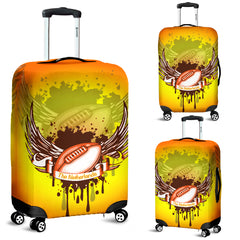 the netherlands (holland) rugby luggage cover
