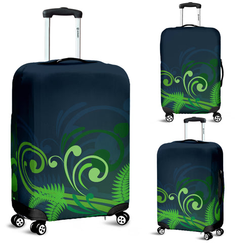 Image of New Zealand Fern Luggage Cover A9 | Love The World