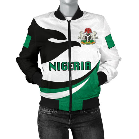 Nigeria Women Bomber Jacket Proud Version | 1sttheworld