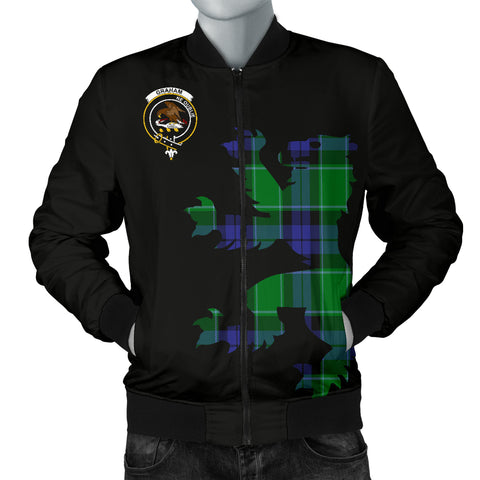 Image of Graham Tartan Lion And Thistle Bomber Jacket for Men