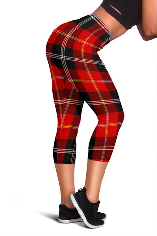 Marjoribanks Tartan Capris Leggings | 1sttheworld.com