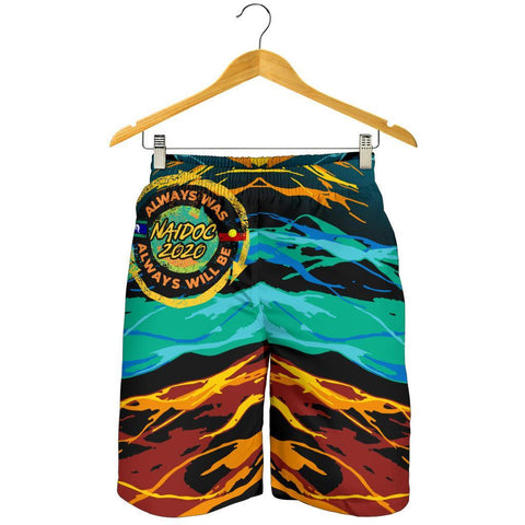 Australia Men's Shorts - Naidoc Always Was, Always Will Be - BN17