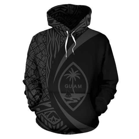 Guam Polynesian Hoodie - Circle Style