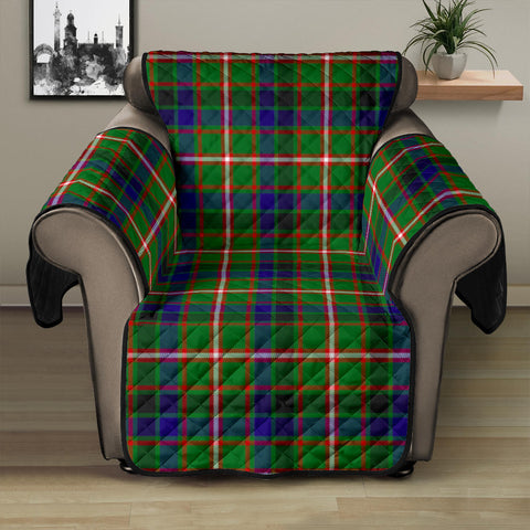 Image of Reid Green Tartan Recliner Sofa Protector | Tartan Home Set