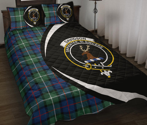 Davidson of Tulloch  Tartan Quilt Bed Set Circle
