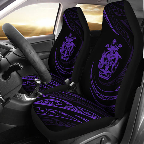 Solomon Car Seat Covers - Purple - Frida Style - J96