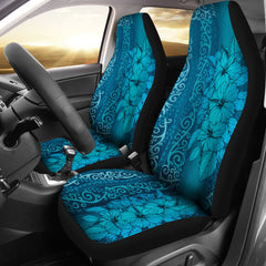 Hawaii Hibiscus Polynesian Car Seat Cover 09 H9