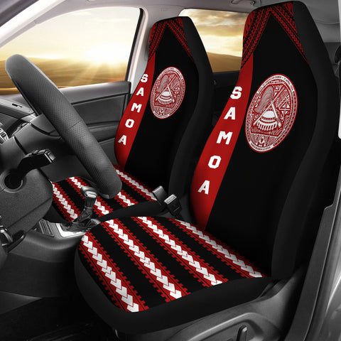 Seal of American Samoa Car Seat Covers K4