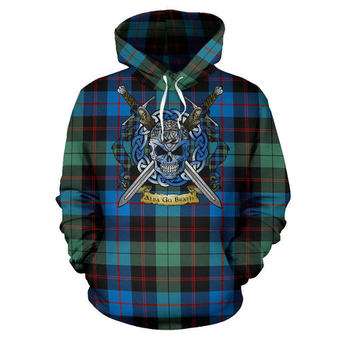Guthrie Ancient Tartan Hoodie Celtic Scottish Warrior A79 | Over 500 Tartans | Clothing | Apaprel