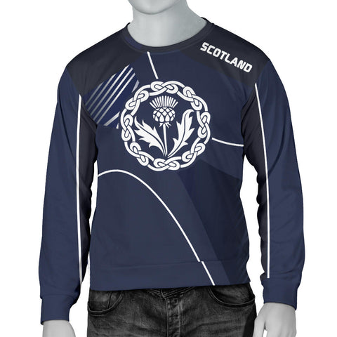 Image of Scotland Men's Sweater - Increase Version font