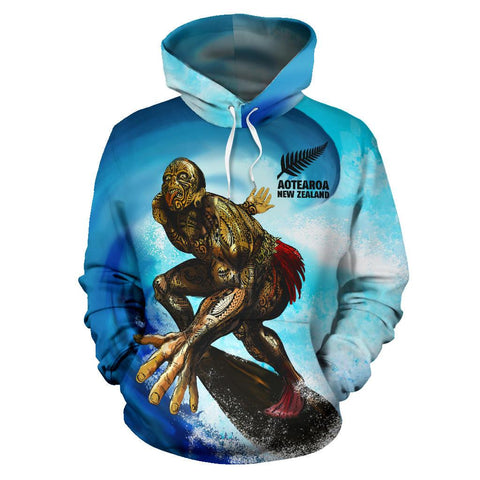 Image of New Zealand Hoodie Aotearoa Surf A7