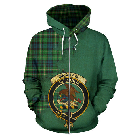 Graham of Montrose Ancient  Royal All Over Hoodie (Zip)