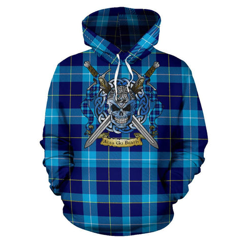 McKerrell Tartan Hoodie Celtic Scottish Warrior A79 | Over 500 Tartans | Clothing | Apaprel