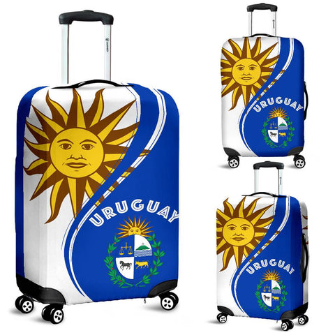 Image of Uruguay Sky Luggage Cover Version 2 K7