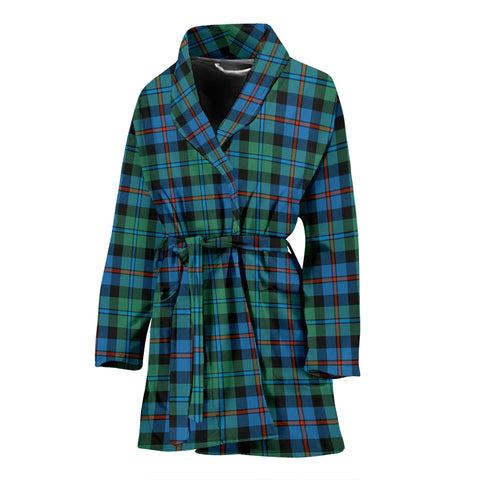 Campbell Of Cawdor Ancient Tartan Women's Bathrobe - BN03