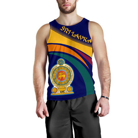 Image of Sri Lanka Coat Of Arms Tank Top