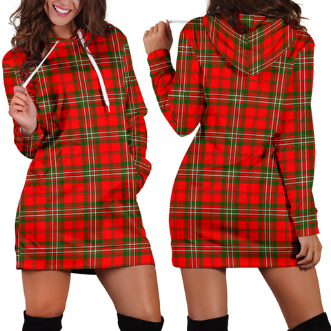 Scott Modern Tartan Hoodie Dress HJ4 |Women's Clothing| 1sttheworld