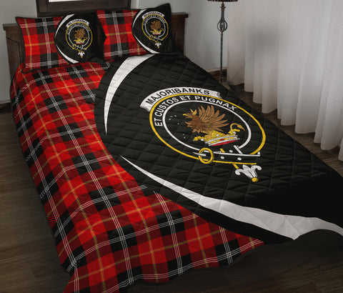 Image of Marjoribanks Tartan Quilt Bed Set Circle