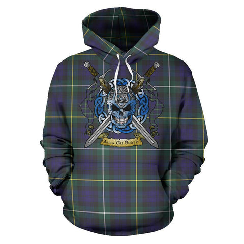 Campbell Argyll Modern Tartan Hoodie Celtic Scottish Warrior A79 | Over 500 Tartans | Clothing | Apaprel