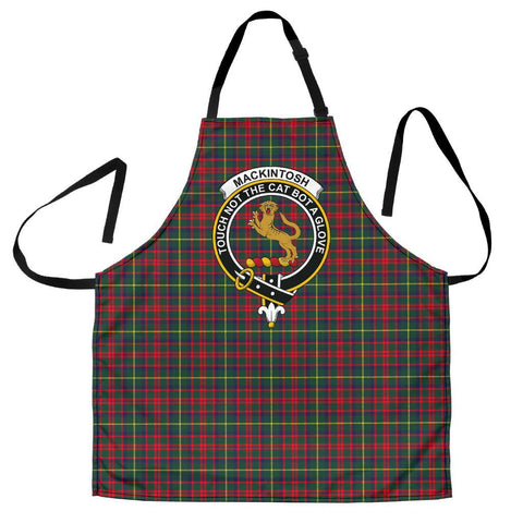 MacKintosh Hunting Modern Tartan Clan Crest Apron