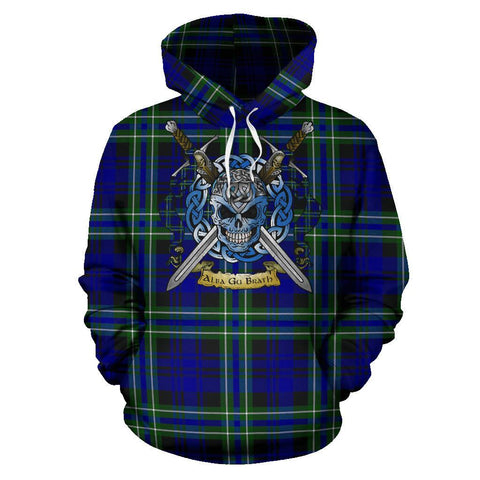 Arbuthnot Modern Tartan Hoodie Celtic Scottish Warrior A79 | Over 500 Tartans | Clothing | Apaprel