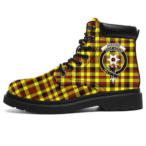 Jardine Tartan Clan Crest All-Season Boots