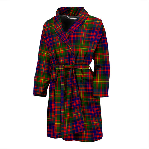 Carnegie Modern Tartan Men's Bath Robe