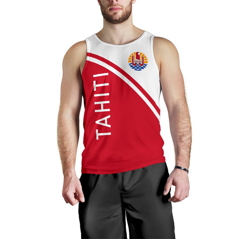 Tahiti Men's Tank Top - Curve Version - BN04