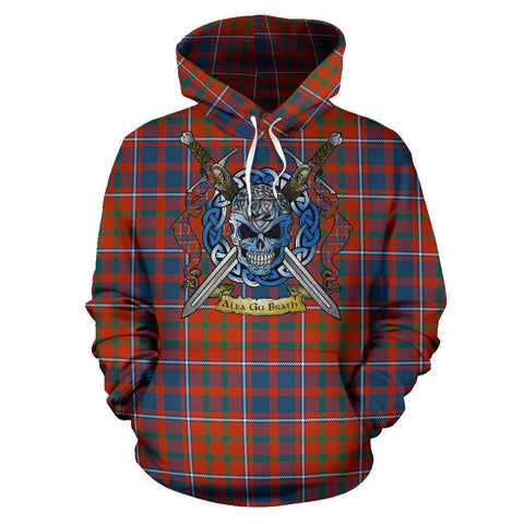 Image of Cameron of Lochiel Ancient Tartan Hoodie Celtic Scottish Warrior A79 | Over 500 Tartans | Clothing | Apaprel
