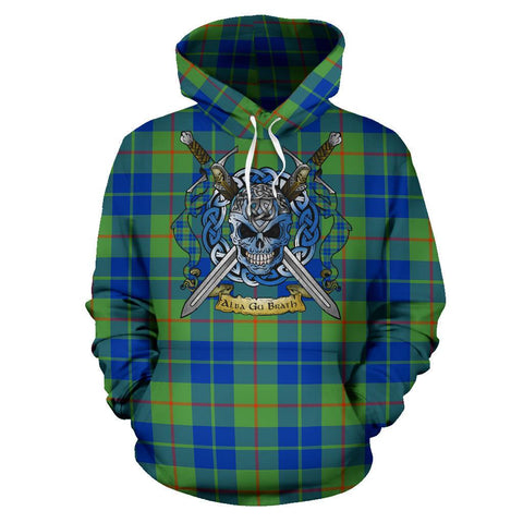 Image of Barclay Hunting Ancient Tartan Hoodie Celtic Scottish Warrior A79 | Over 500 Tartans | Clothing | Apaprel