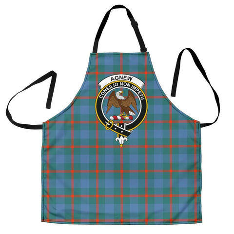 Image of Agnew Ancient Tartan Clan Crest Apron HJ4