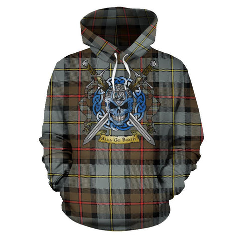 MacLeod of Harris Weathered Tartan Hoodie Celtic Scottish Warrior A79 | Over 500 Tartans | Clothing | Apaprel