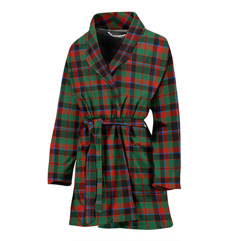 Cumming Hunting Ancient Tartan Women's Bath Robe