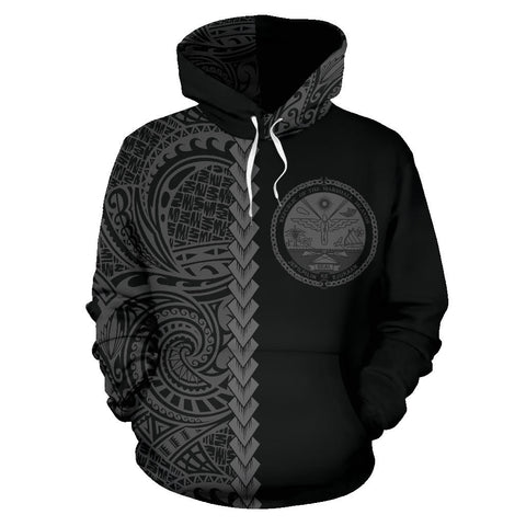 Image of Marshall Islands Hoodie Polynesian - Half Style TH5